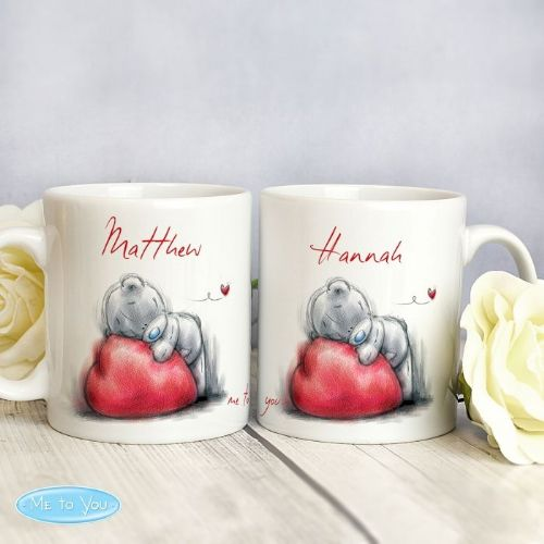 Me To You Heart Mug Set
